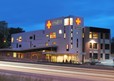 """<p style=""""text-align: center;"""">American Red Cross Headquarters</p>"""