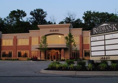 """<p style=""""text-align: center;"""">Red Bank Crossing I & II</p>"""